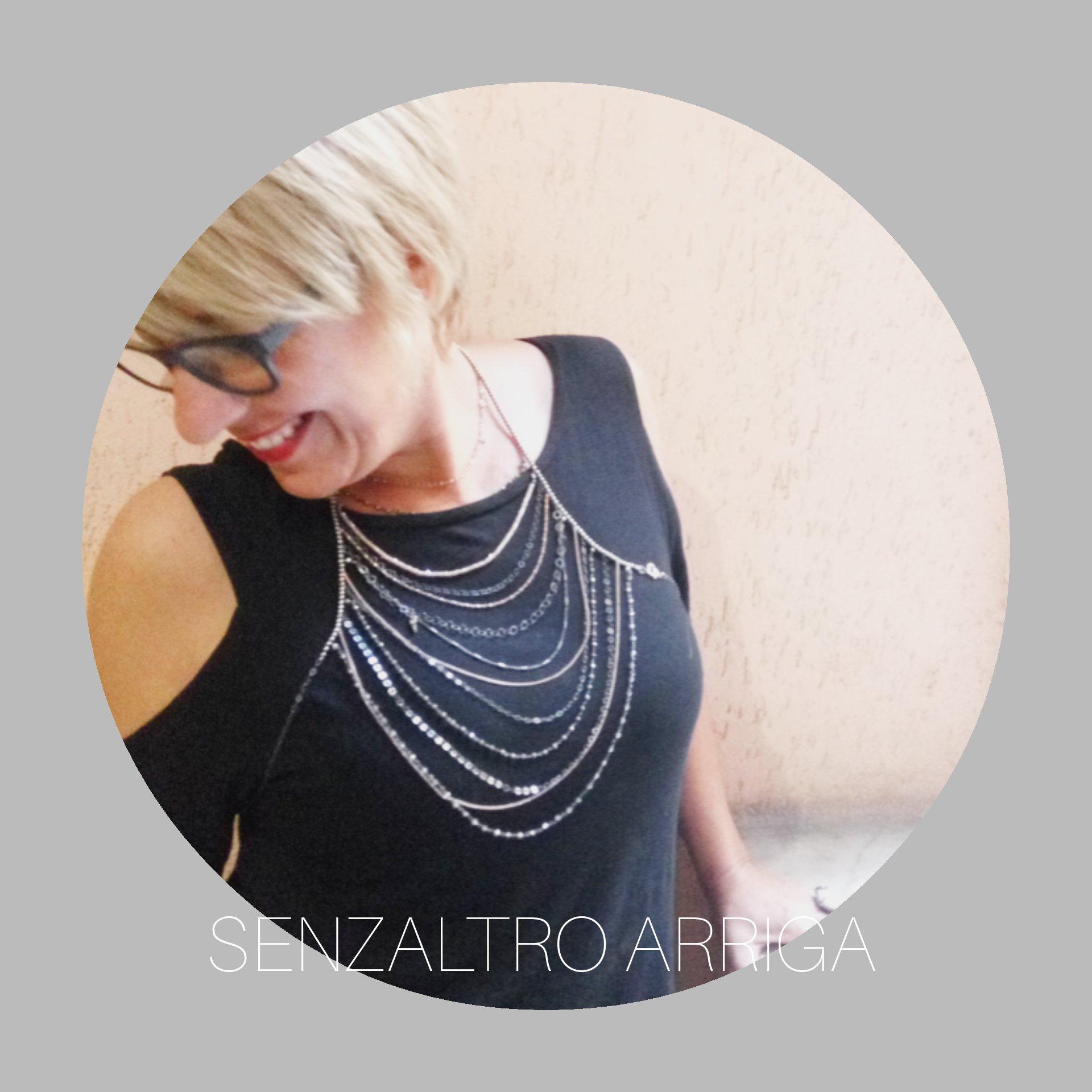 La body necklace si indossa…. proprio come un vestito.